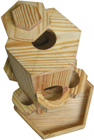 Birdhousebuilder FKBF0026 Bird Feeder Bird House