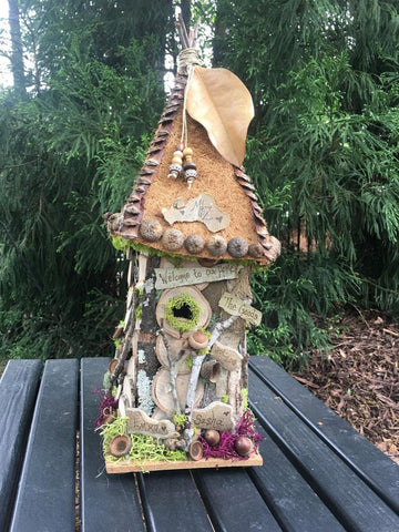 Large Handmade Bird House - The Good's
