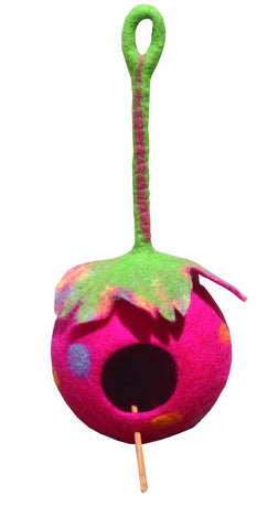 Eco-Bird Nest, Handmade, Felted Beautiful and Durable