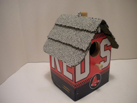 Boston Red Sox License Plate Birdhouse