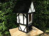 Unique, Handcrafted, Tudor Birdhouse
