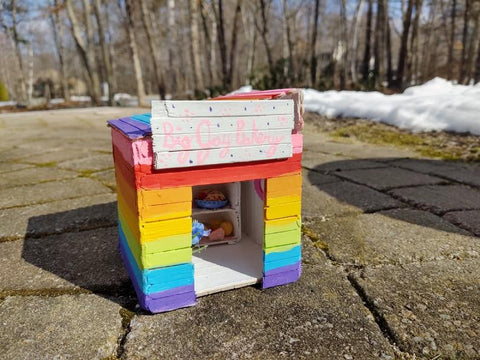 Big Gay Bakery Birdhouse