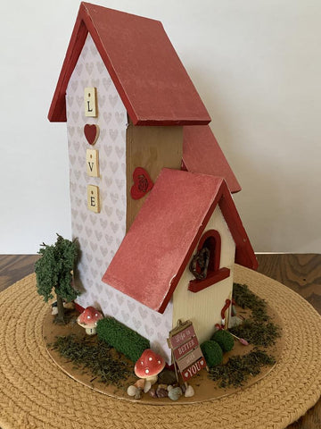 Customized Duplex Style Birdhouse