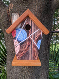 Knitting Birdhouse