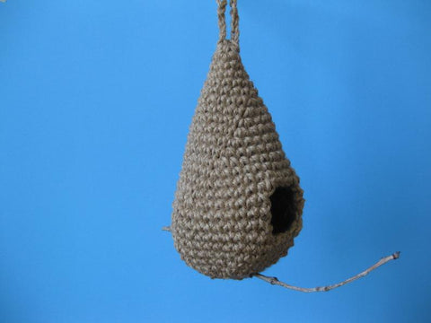 Teardrop Birdhouse Crochet Pattern