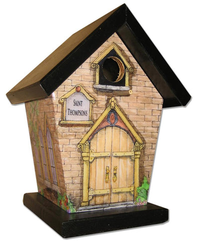 Personalized Church Birdhouse