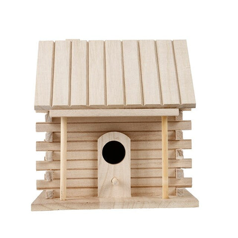 Nest House Bird Box Wooden Bird House Nest Creative Wall-mounted