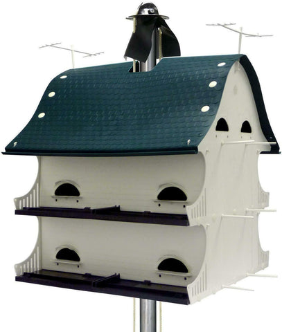 S And K Mfg. 12-Room American Barn Purple Martin House