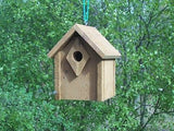 Wood-In-Things.com Bluebird house,thick entrance,Cedar