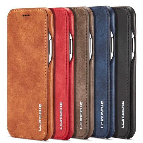 Flip Leather Cover for IPhone 11