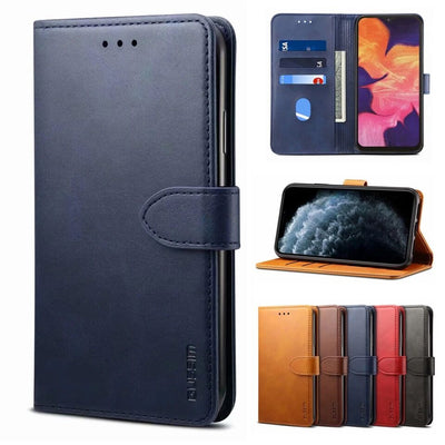 Luxury Quality Wallet Leather Case For iphone 11