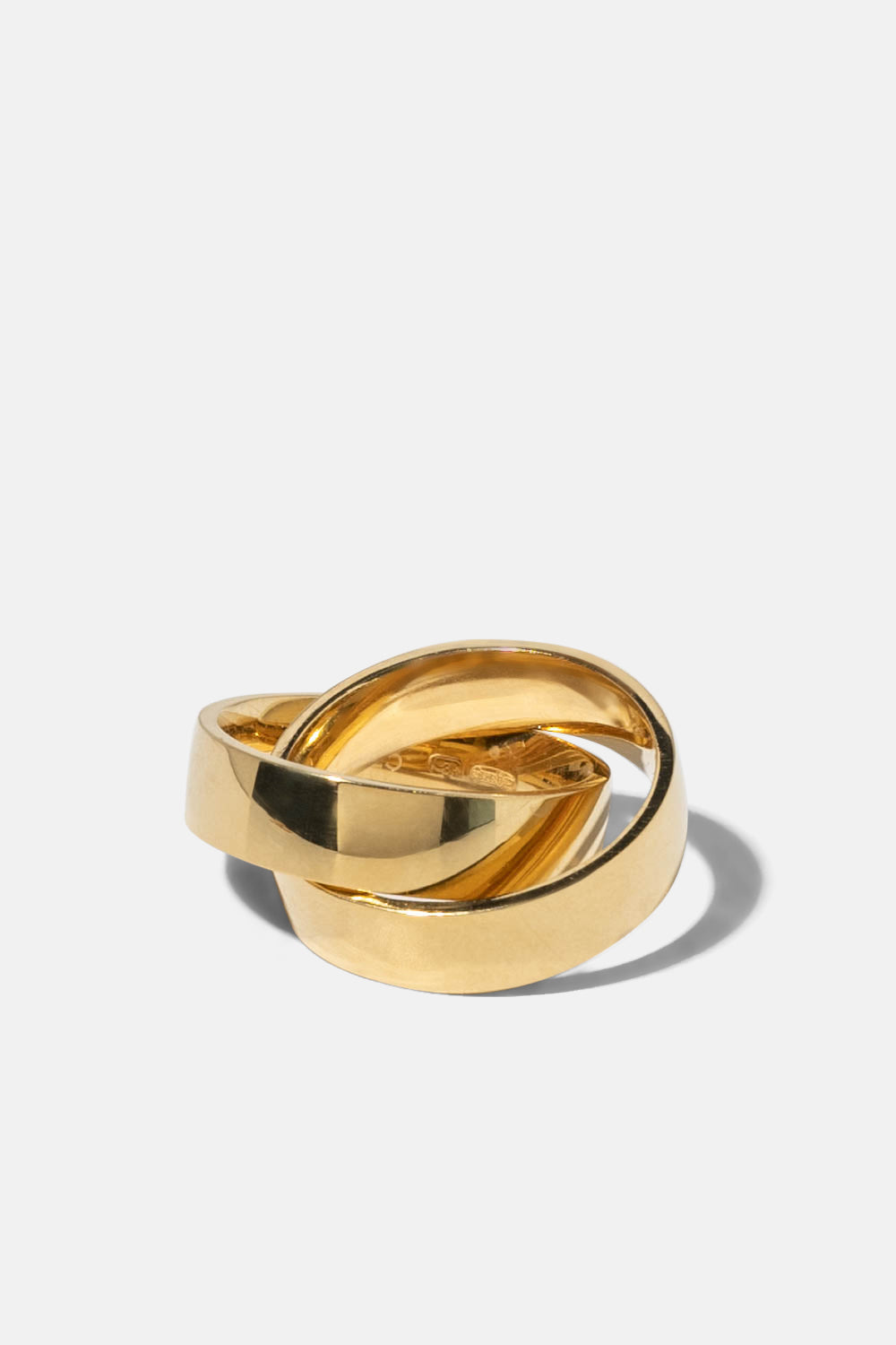 10Y LVK Ring 02 Gold Plated Silver