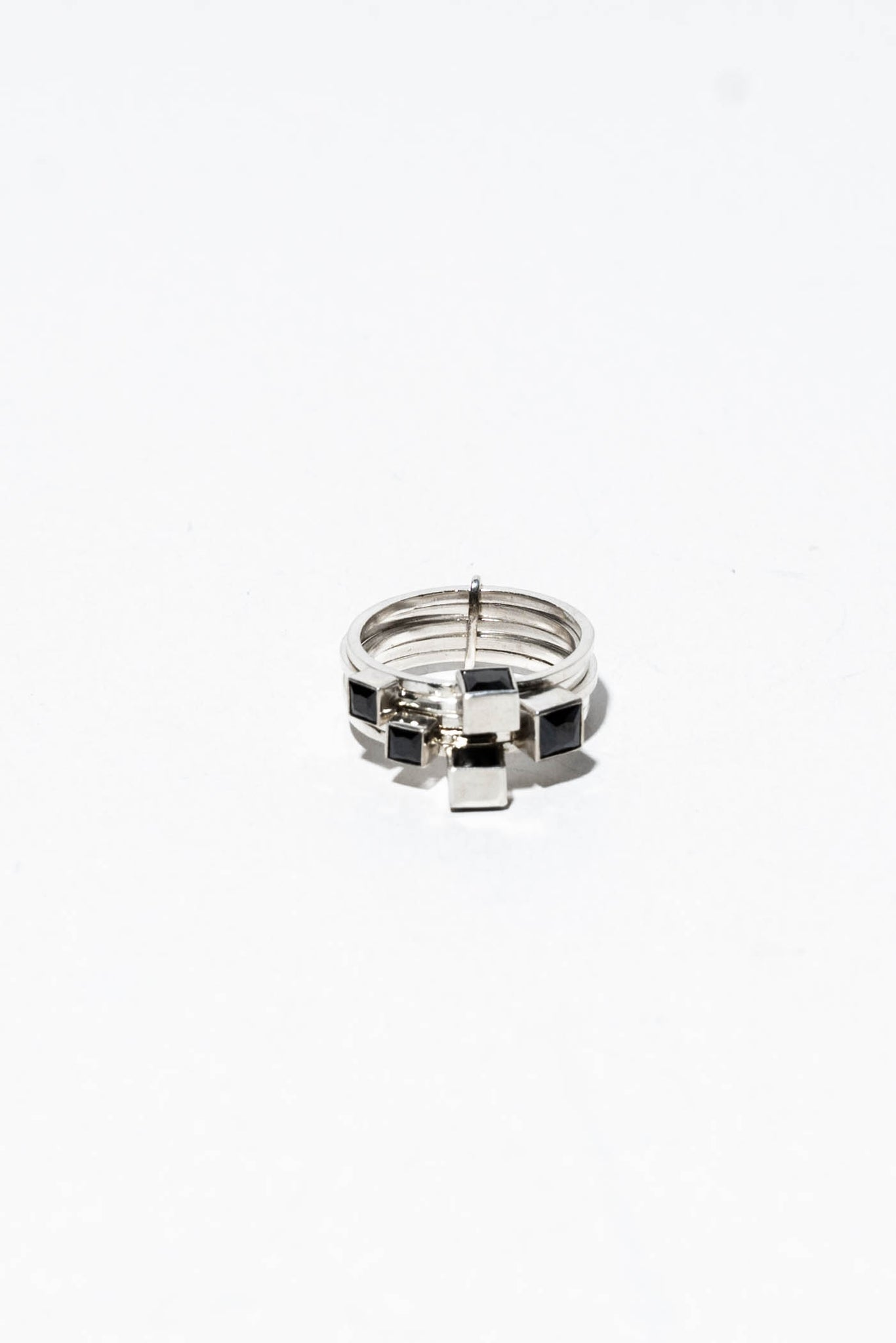 Maison Mosaic Ring 02 Silver