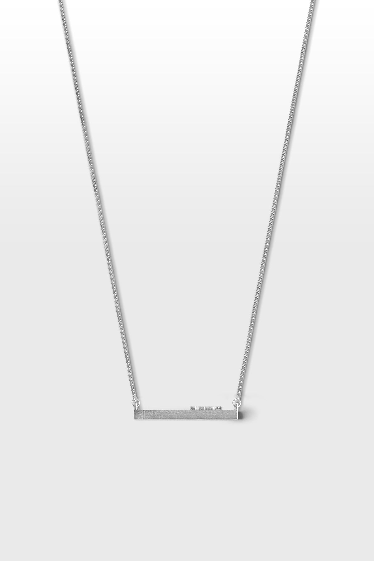 Ode. Necklace 01 Silver