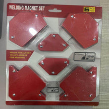 Load image into Gallery viewer, JW-S6PCS Magnetic Welding Holder Set,Magnetic Welding Holder Set(2 PCS)
