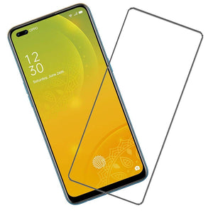 REALME X50 PRO 5G Screen Protector, HD Clear Scratch Resistant Bubble Free Anti-Fingerprints Tempered Glass (Transparent) (Pack of 1)