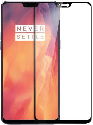 Edge To Edge Tempered Glass for OnePlus 6  (Pack of 1)