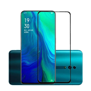 Oppo Reno 10X Zoom (Transparent) Edge to Edge Full Screen Coverage, Pack of 1