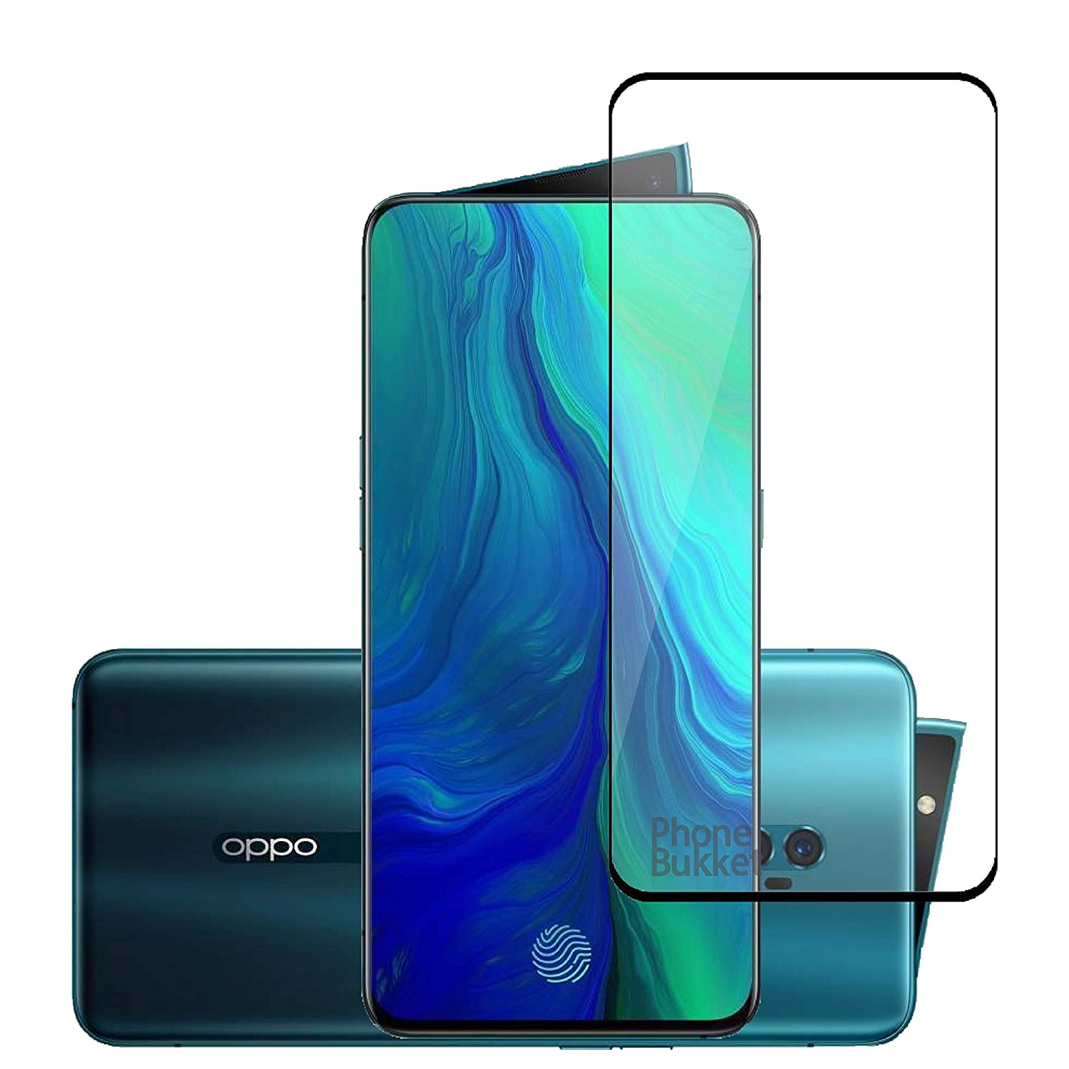 Tempered Glass Screen Guard for Oppo Reno