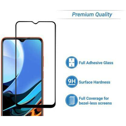 Tempered Glass Guard for Redmi 9 Power  (Pack of 1)