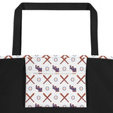 LGM Monogram (White) - Beach Bag