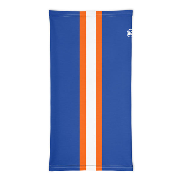 Racing Stripe (Blue) - Neck Gaiter