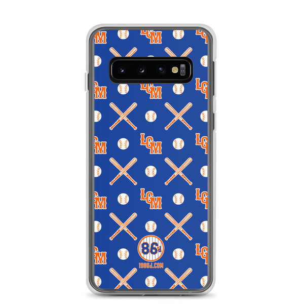 LGM Monogram (Blue) - Samsung Case