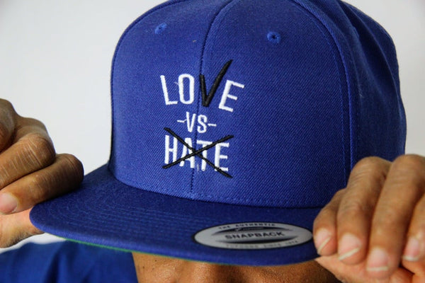 Love -Vs- Hate Snap-Back Hat
