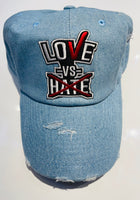 Blue Jean Love-Vs-Hate Dad Hat