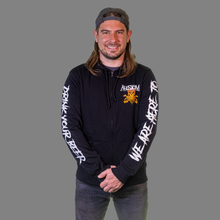Load image into Gallery viewer, 'We Are Here To Drink Your Beer' Zip Hoodie