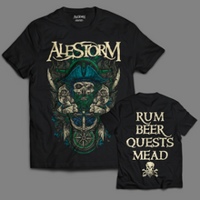 Load image into Gallery viewer, 'Rum Beer Quests Mead' T-Shirt
