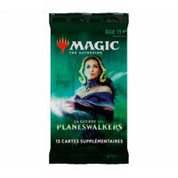 Wizards of the Coast - Magic the Gathering - Boosters - La guerre des planeswalkers (Français)