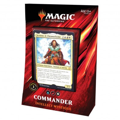 Wizards of the Coast - Magic the Gathering - Deck Intellect mystique - Commander 2019 (Français)