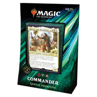 Wizards of the Coast - Magic the Gathering - Deck Genèse primitive - Commander 2019 (Français)