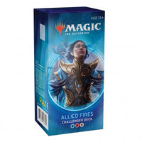 Wizards of the Coast - Magic the Gathering – Deck Allied Fires - Challenger Deck 2020 (Anglais)