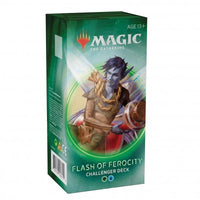 Wizards of the Coast - Magic the Gathering - Deck Flash of ferocity - Challenger Deck 2020 (Anglais)