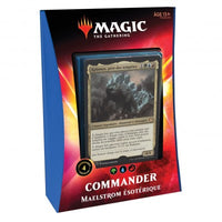 Wizards of the Coast - Magic the Gathering - Deck Maelstrom ésotérique - Commander 2020 (Français)