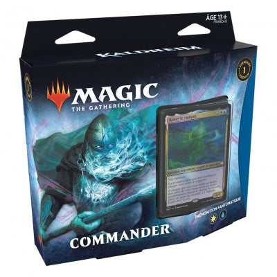 Wizards of the Coast - Magic the Gathering - Deck Prémonition Fantomatique - Kaldheim (Français)
