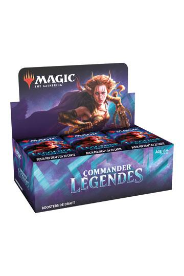 Wizards of the Coast - Magic the Gathering - Boites de Boosters - Commander Légendes (Français)