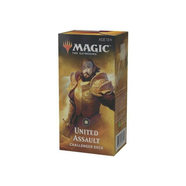 Wizards of the Coast - Magic the Gathering - Deck United assault - Challenger Deck 2019 (Anglais)