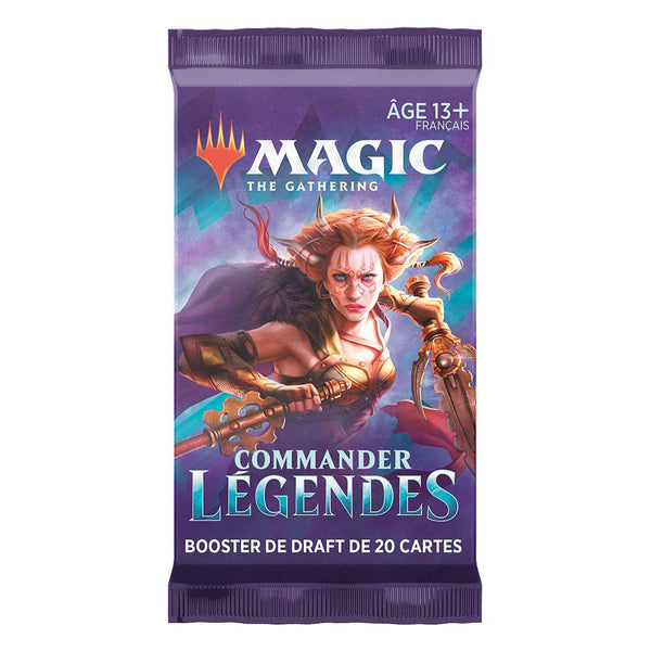 Wizards of the Coast - Magic the Gathering - Boosters - Commander Légendes (Français)