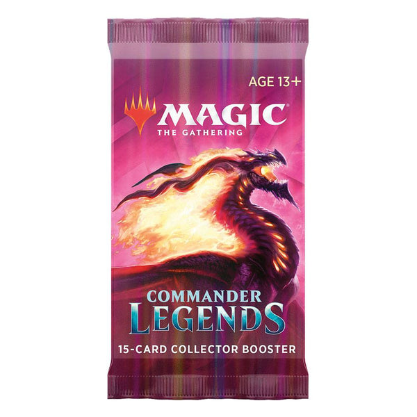 Wizards of the Coast - Magic the Gathering - Boosters Collectors - Commander Légendes (Français)