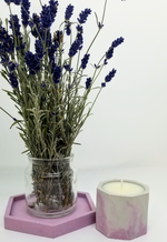 Load image into Gallery viewer, Geometric Soy Candles