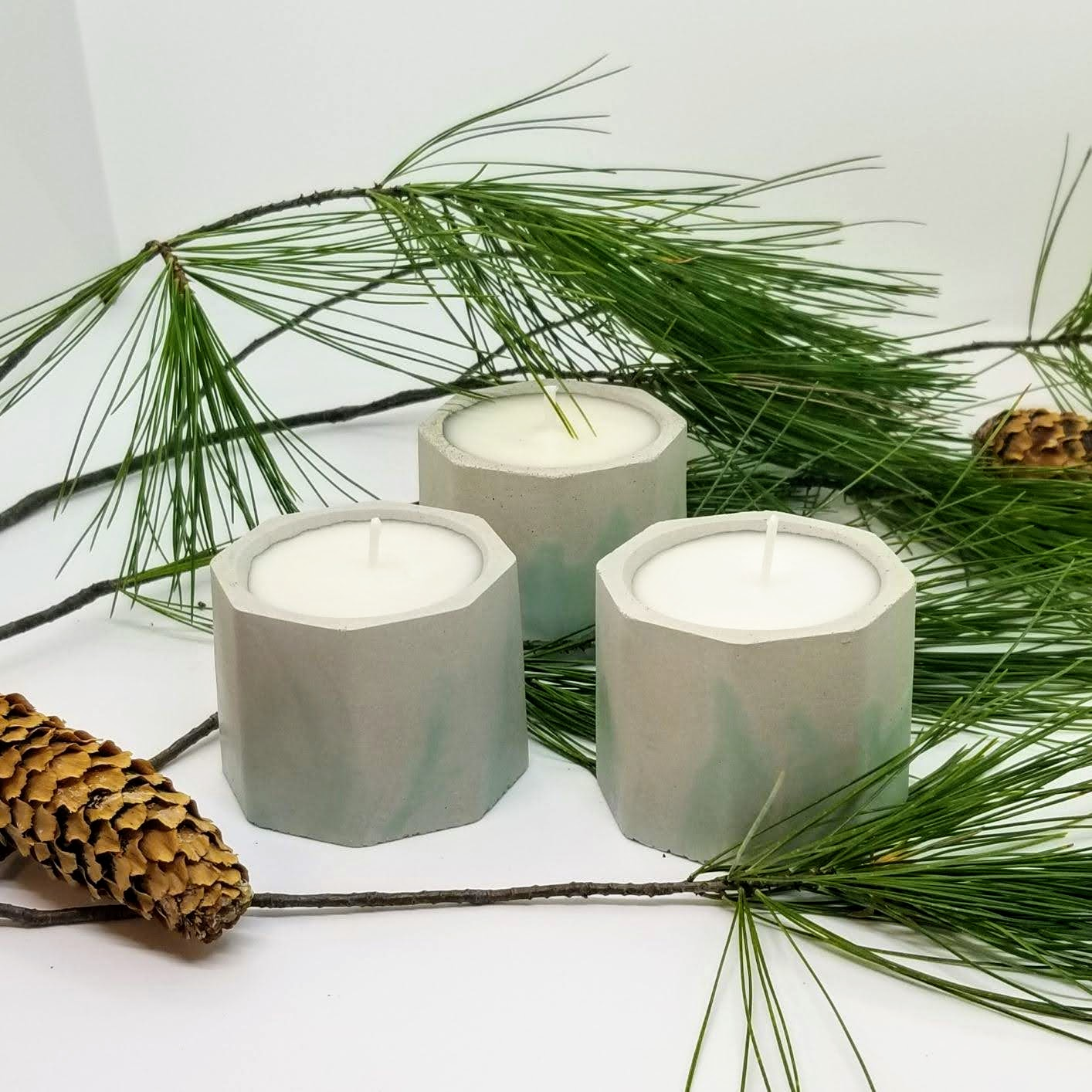 Geometric Soy Candles