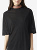Womens Black Jersey Tunic With Beading
