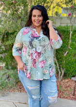 Load image into Gallery viewer, Picture Perfect 3/4 Sleeve Tunic