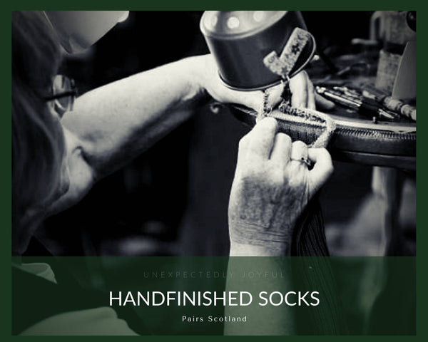 Handfinished socks