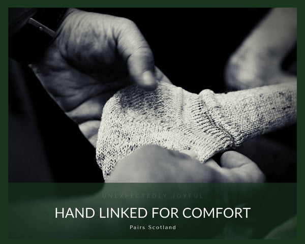 Hand linked for comfort