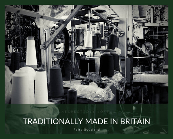Traditionally made in Britain