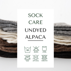 how to care for alpaca socks